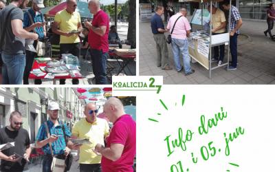 Održani Info dani u Nikšiću i Beranama